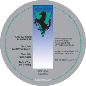 """Karim Sahraoui/PLENITUDE EP 12"""""""