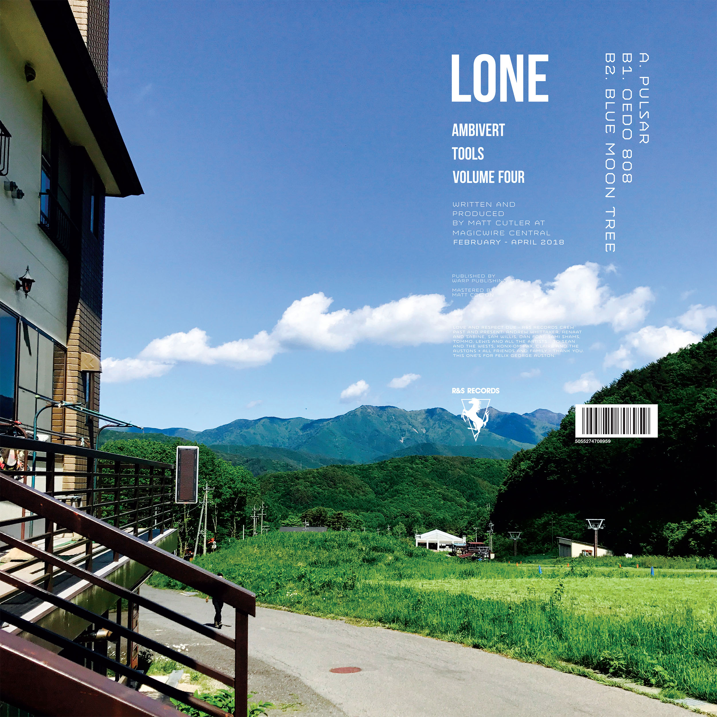 Lone/AMBIVERT TOOLS VOLUME FOUR 12""