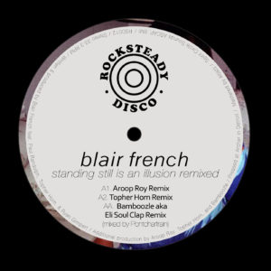 """Blair French/STANDING STILL REMIXED 12"""""""