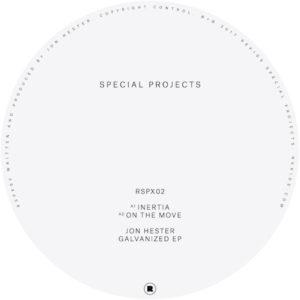 "Jon Hester/GALVANIZED EP 12"""