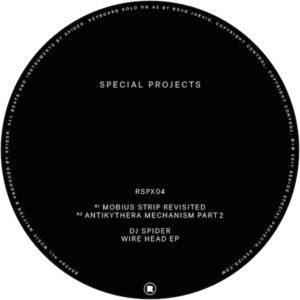 """DJ Spider/WIRE HEAD EP 12"""""""