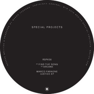 """Marco Faraone/JUSTICE EP 12"""""""