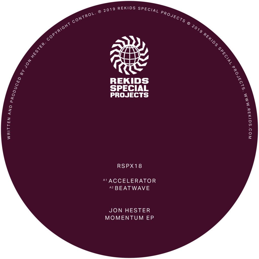 """Jon Hester/MOMENTUM EP 12"""""""