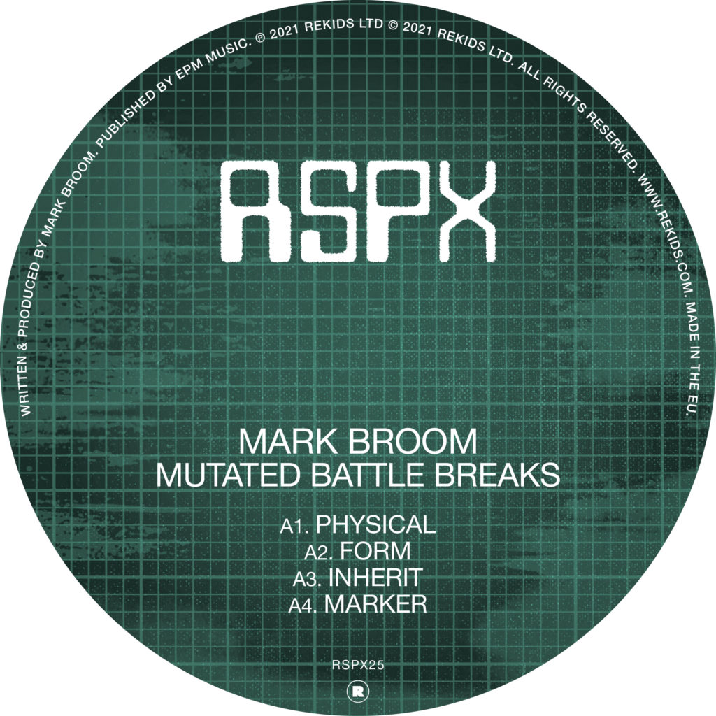 "Mark Broom/MUTATED BATTLE BREAKS EP 12"""