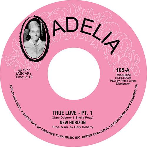 "New Horizon/TRUE LOVE PT'S 1 & 2 7"""
