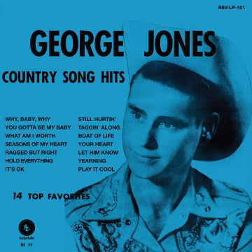 George Jones/COUNTRY SONG HITS LP