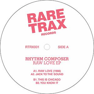 "Rhythm Composer/RAW LOVE EP 12"""