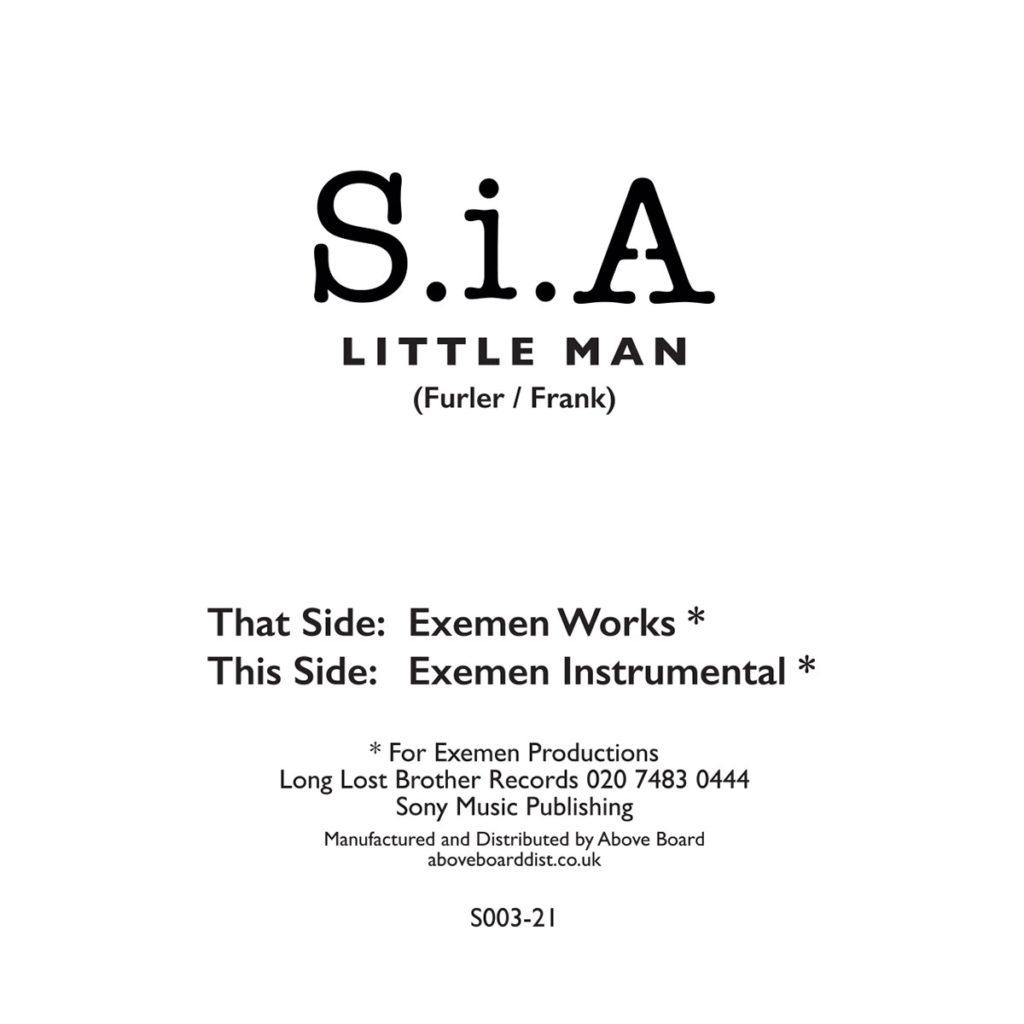 "S.i.A/LITTLE MAN (EXEMEN WORKS) 12"""