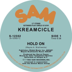 """Kreamcicle/HOLD ON 12"""""""