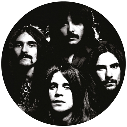 Black Sabbath/GROUP PHOTO SLIPMAT