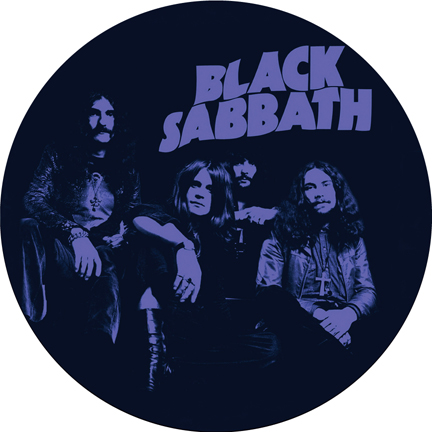 Black Sabbath/PURPLE SLIPMAT