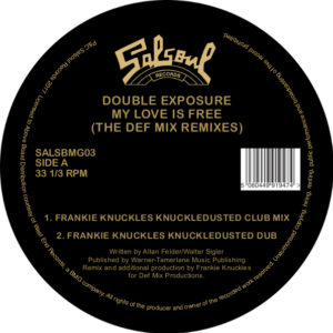 Double Exposure/MY LOVE IS FREE RMX 12""