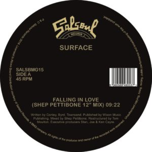 "Surface/FALLING IN LOVE-S PETTIBONE 12"""