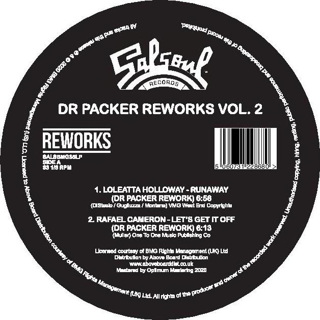 """Dr. Packer/SALSOUL REWORKS VOL 2 12"""""""