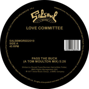 Love Committee/PASS THE BUCK REMIXES 12""