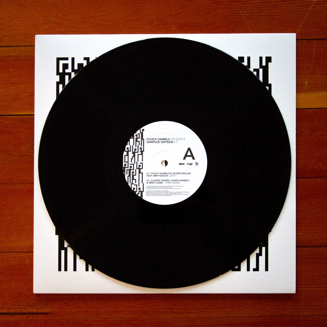 "Chuck Daniels Presents/SAMPLED 16 EP 12"""