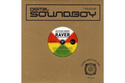 "Shy FX/RAVER (FEAT. DONAE'O) 10"""