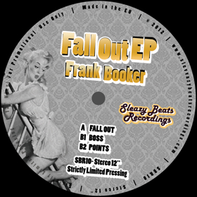Frank Booker/FALL OUT EP 12""