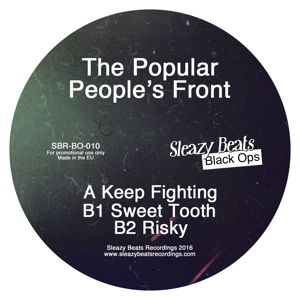 """Popular People's Front/KEEP FIGHTING 12"""""""