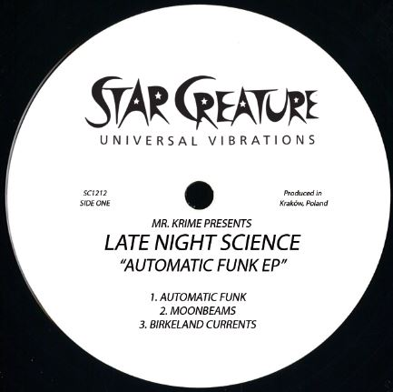 Late Night Science/AUTOMATIC FUNK 12""