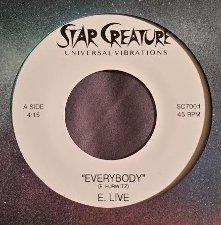"""E. Live/EVERYBODY 7"""""""
