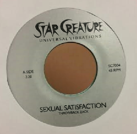 Throwback Zack/SEXUAL SATISFACTION 7""