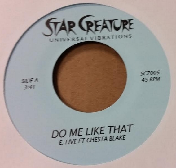 E. Live/DO ME LIKE THAT 7""