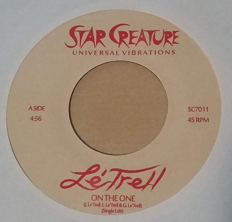Le'Trell/ON THE ONE & S.O.S. 7""
