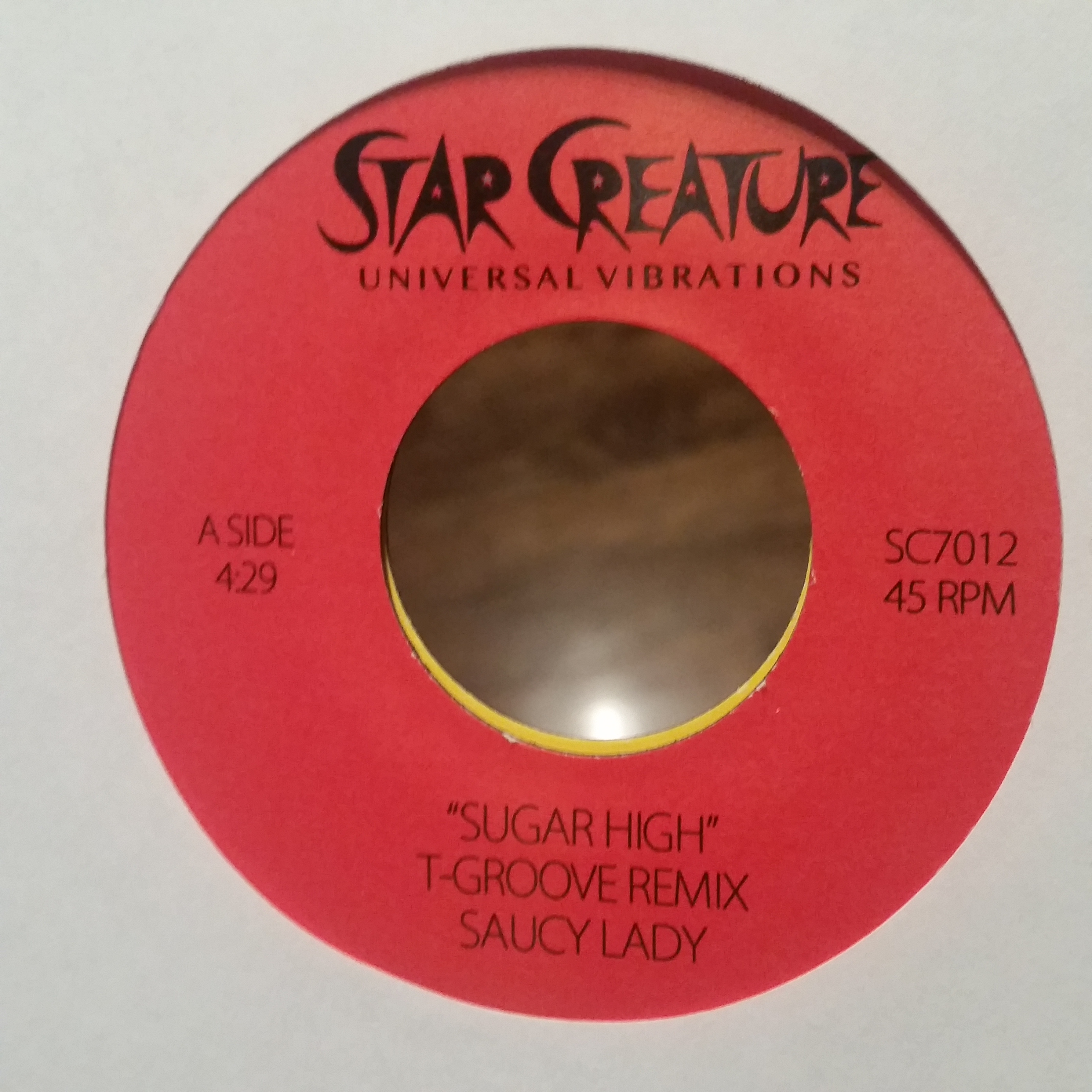 Saucy Lady/T-GROOVE REMIXES 7""