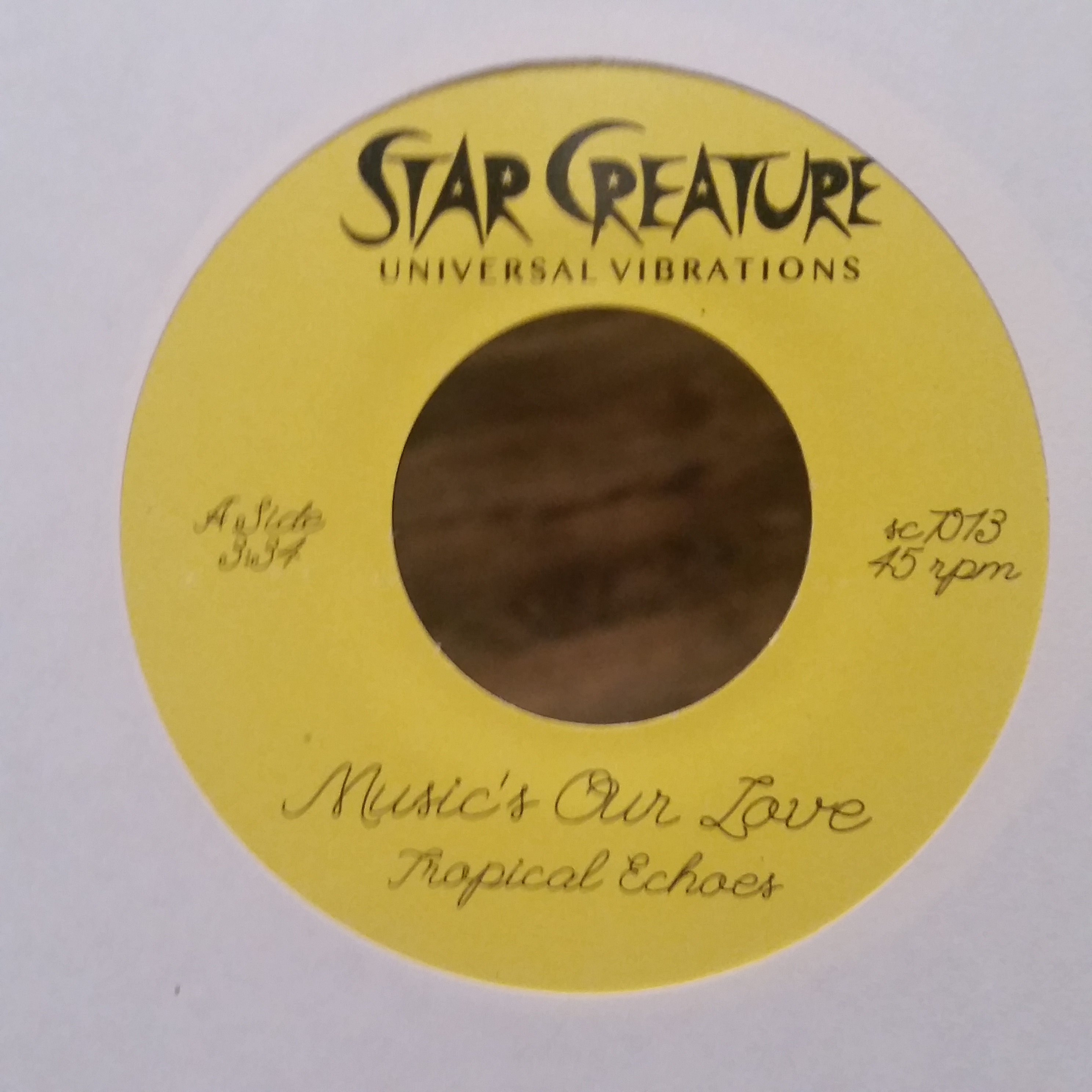Tropical Echoes/MUSIC'S OUR LOVE 7""