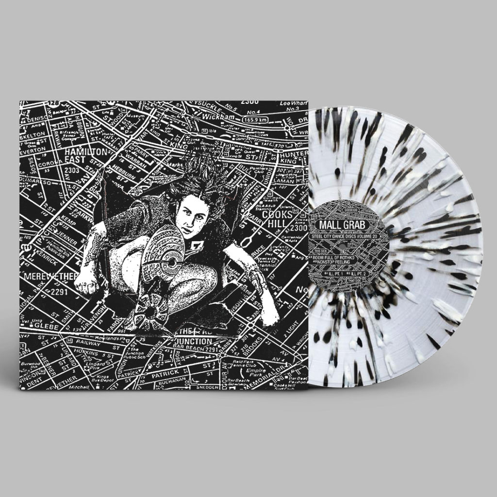Mall Grab/SCDD020 (SPLATTER VINYL) 12""