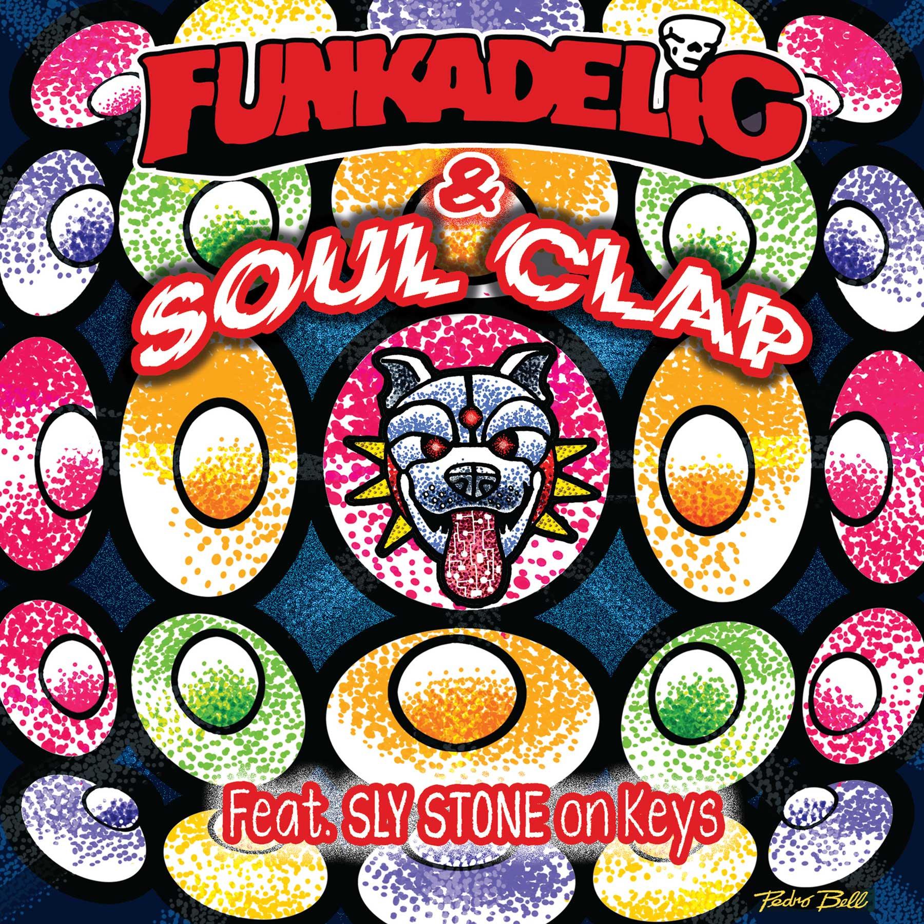 "Funkadelic & Soul Clap/3 TRACK EP 12"""