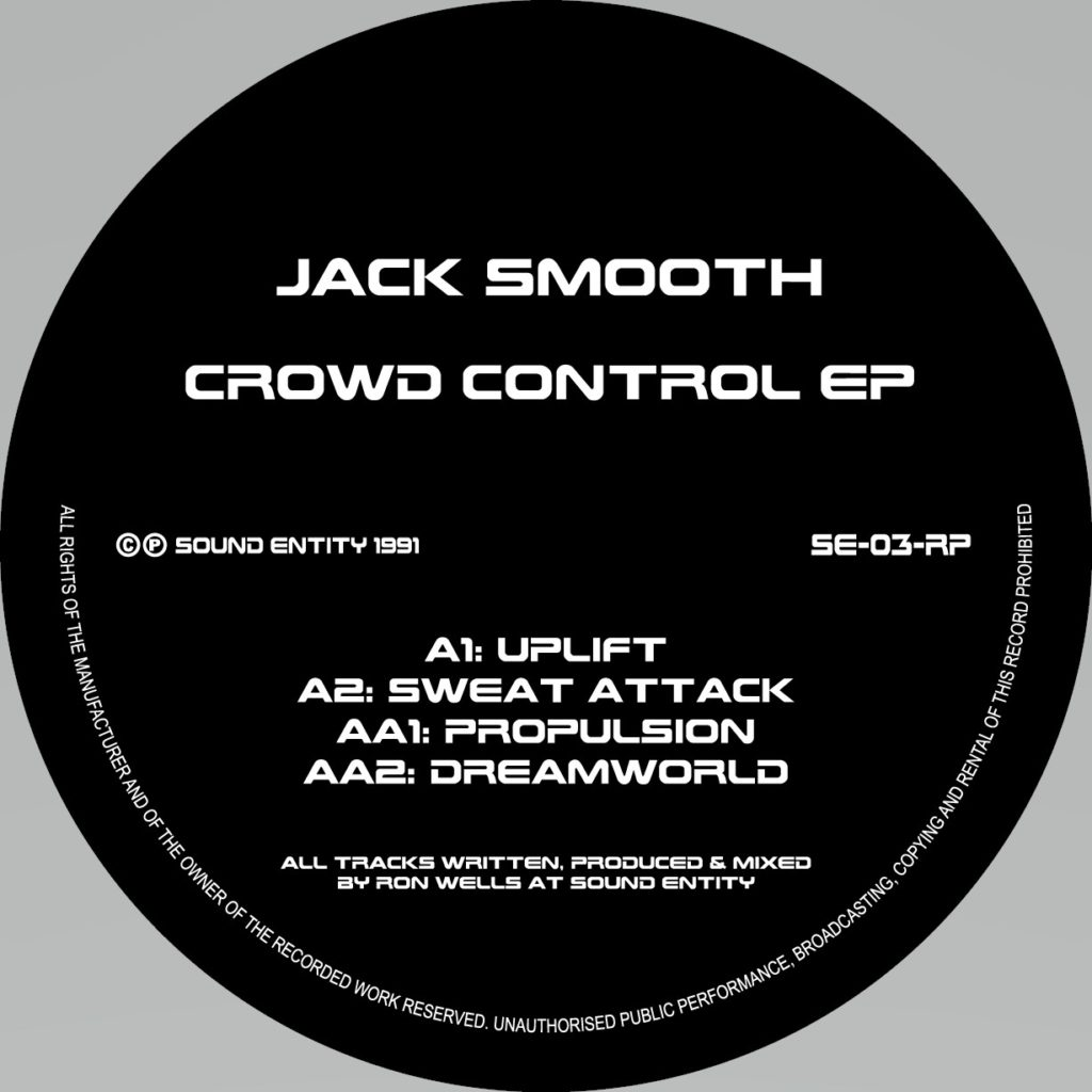 Jack Smooth/CROWD CONTROL EP 12""
