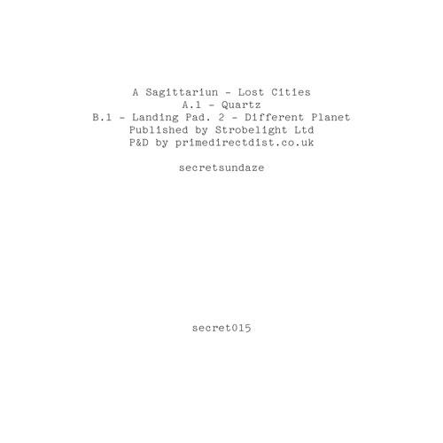"A Sagitarriun/LOST CITIES EP 12"""