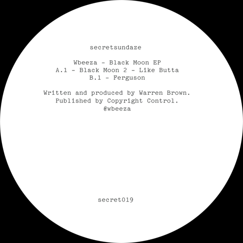 Wbeeza/BLACK MOON EP 12""
