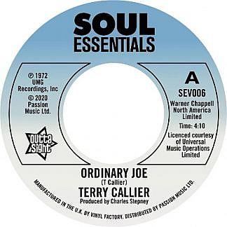 "Terry Callier/ORDINARY JOE 7"""