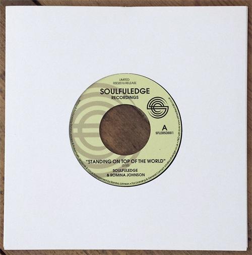 """Soulfuledge & Romina Johnson/STANDING 7"""""""