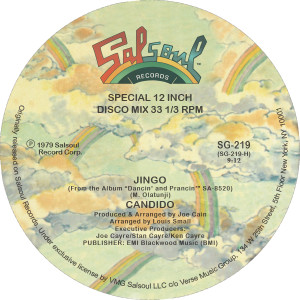 Candido/JINGO & THOUSAND FINGER MAN 12""