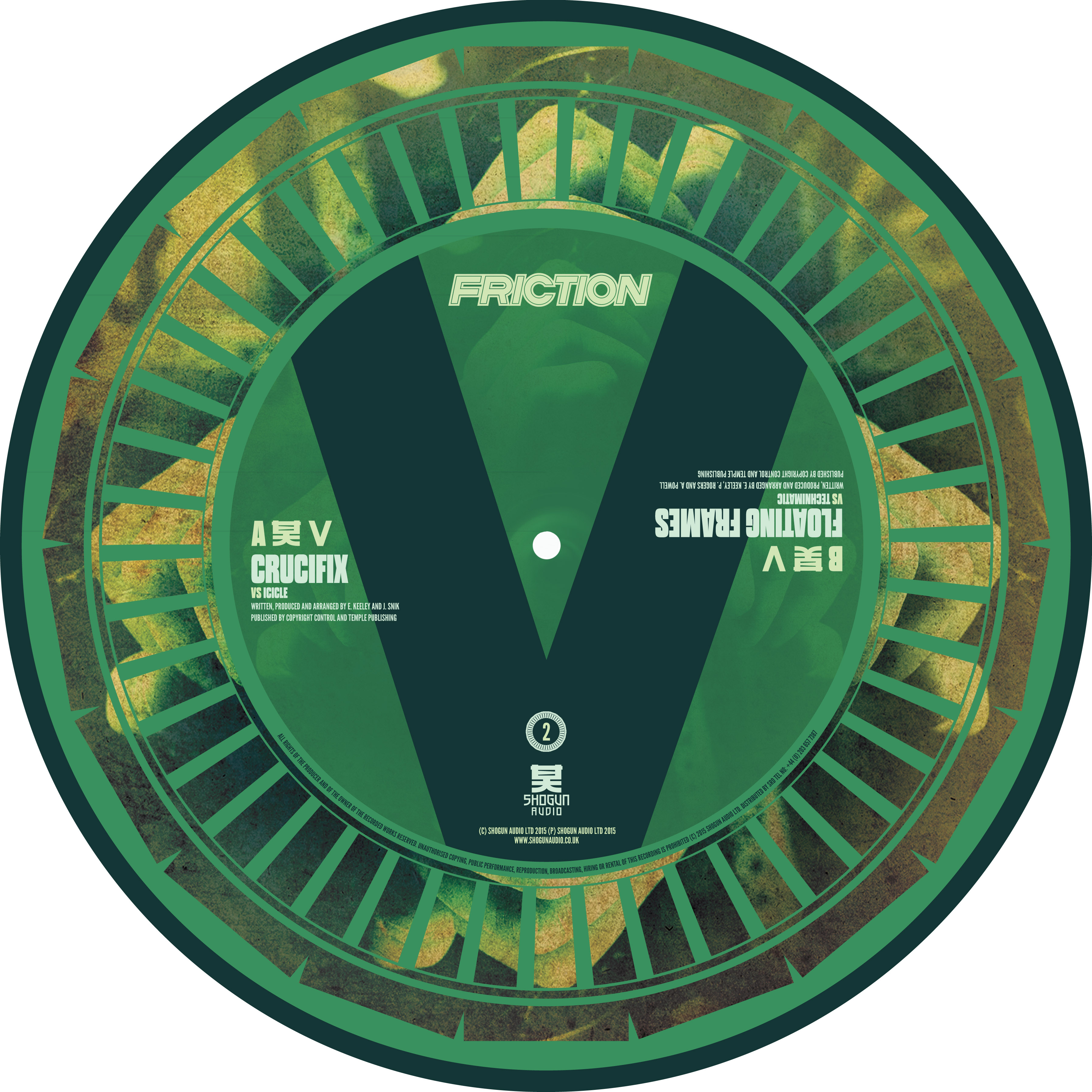 Friction/VS VOL. 2 (PIC DISC) 12""