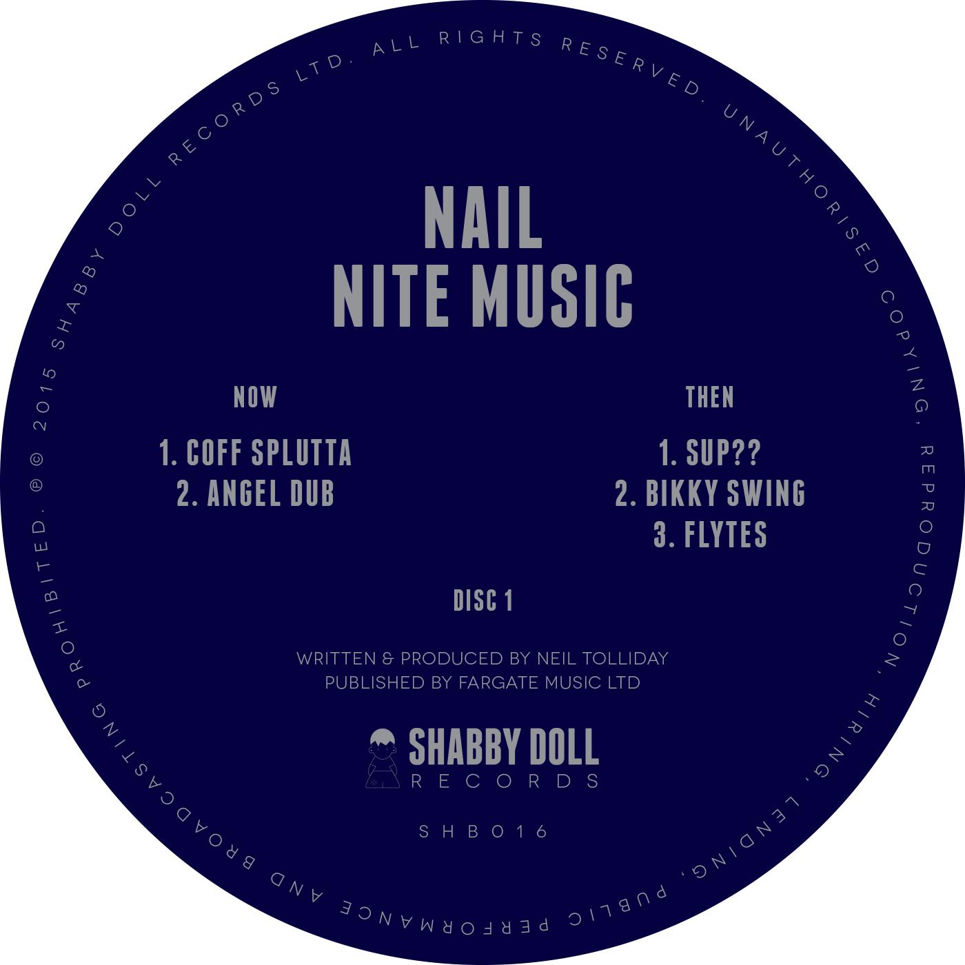 "Nail/NITE MUSIC D12"""