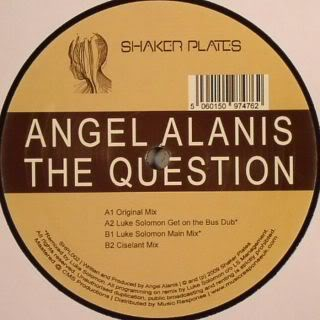 Angel Alanis/QUESTION EP 12""
