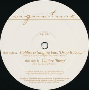 Calibre/DROP IT DOWN 12""