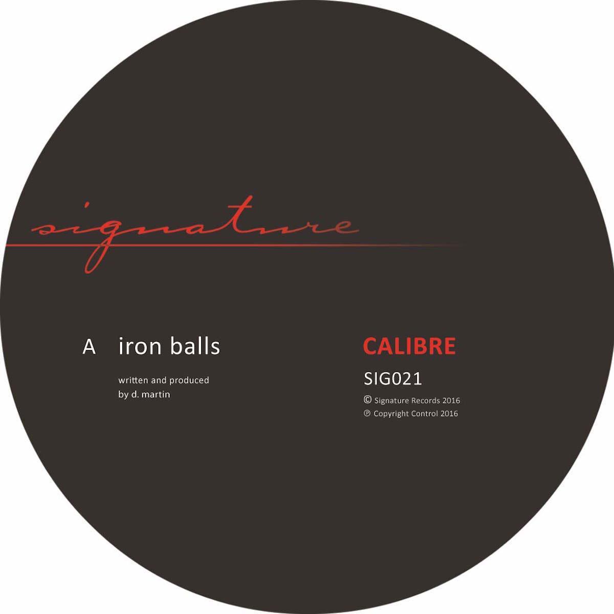 """Calibre/IRON BALLS 12"""""""