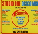 Various/STUDIO ONE DISCO MIX CD