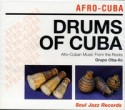 Various/DRUMS OF CUBA CD