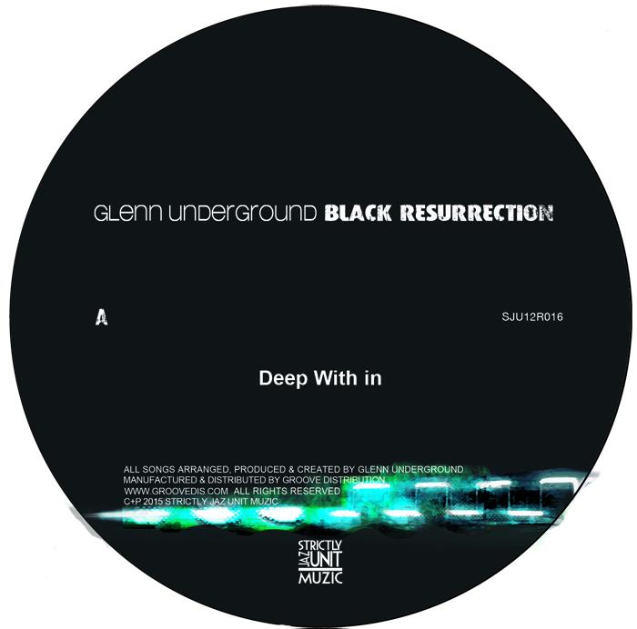 "Glenn Underground/BLACK RES EP #2 12"""