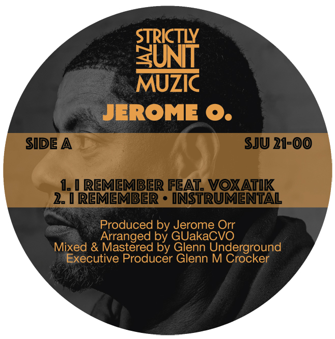 Jerome O/I REMEMBER PAUL JOHNSON RMX 12""