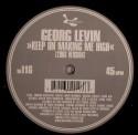 "Georg Levin/KEEP ON MAKING ME HIGH 12"""