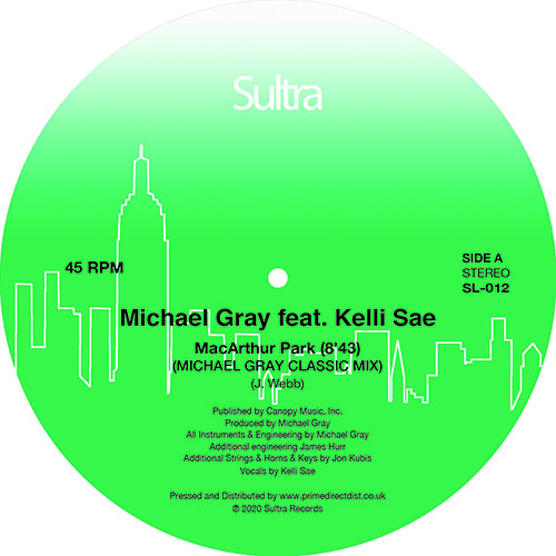 "Michael Gray/MACARTHUR PARK 12"""