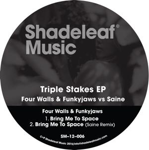 "Four Walls & FunkyJaws/VS SAINE 12"""